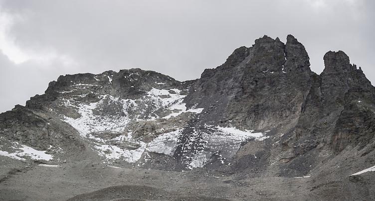 Les glaciers suisses ont diminué de 10% en cinq ans