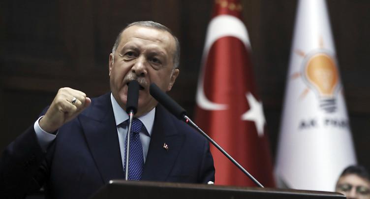 Ankara ne « déclarera jamais de cessez-le-feu » en Syrie (Erdogan)