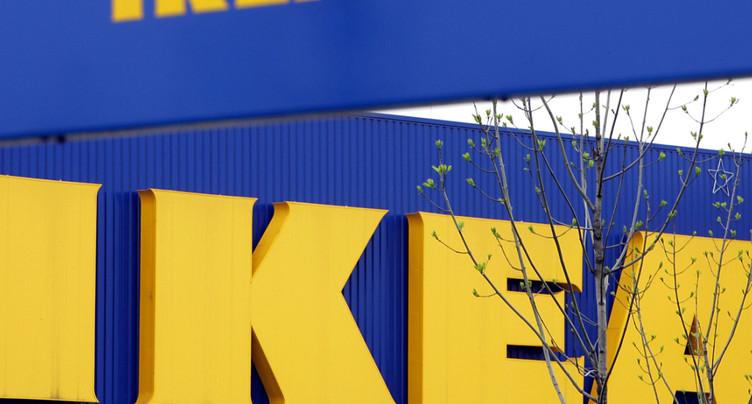 Les recettes d'Ikea Suisse en hausse, grâce notamment à internet