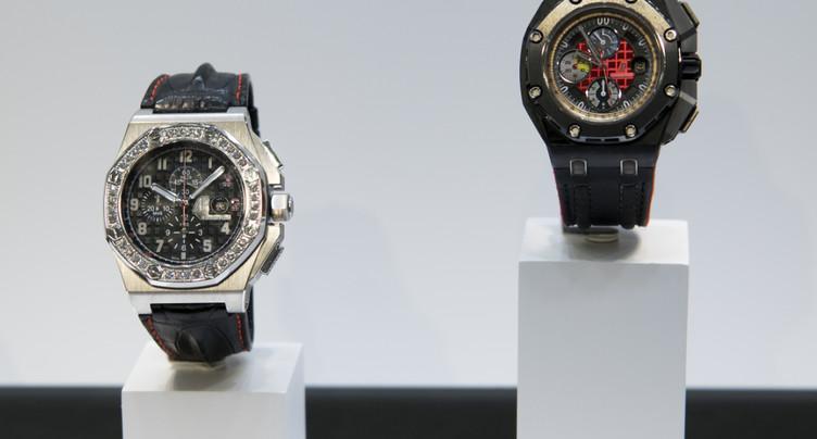 Les exportations horlogères accélèrent en septembre