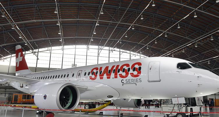 Swiss: les vols reprennent après l'inspection des avions A220