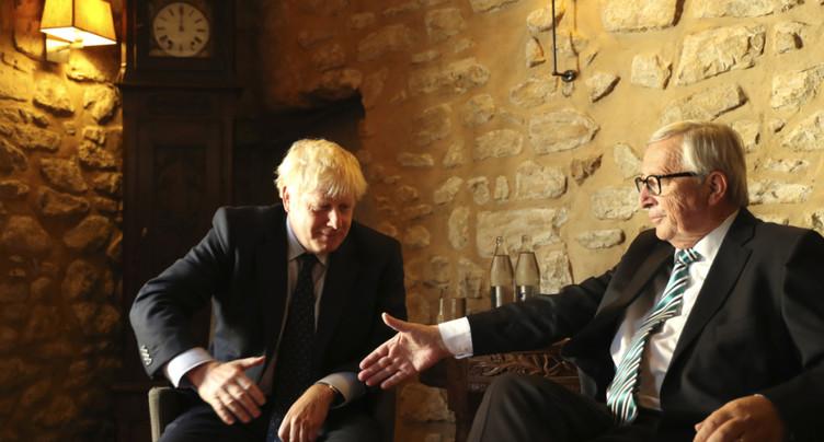Brexit: un nouvel accord trouvé entre Londres et Bruxelles
