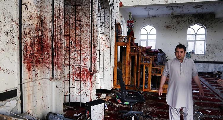 Attentat dans une mosquée en Afghanistan: au moins 28 morts