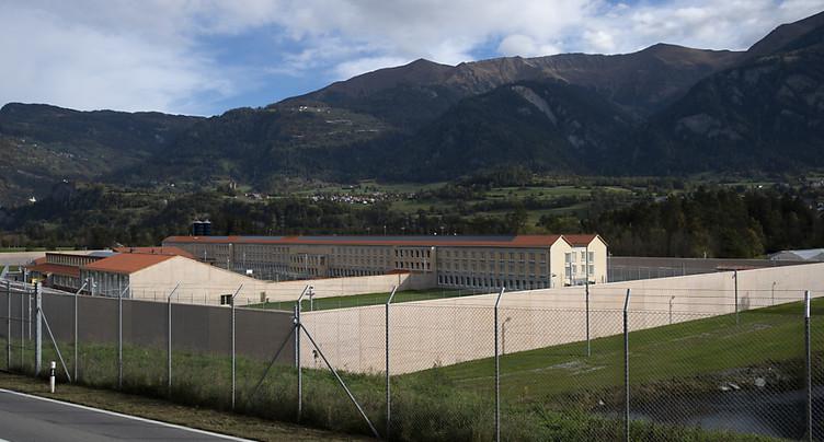 Fin des travaux de construction du pénitencier de Cazis (GR)