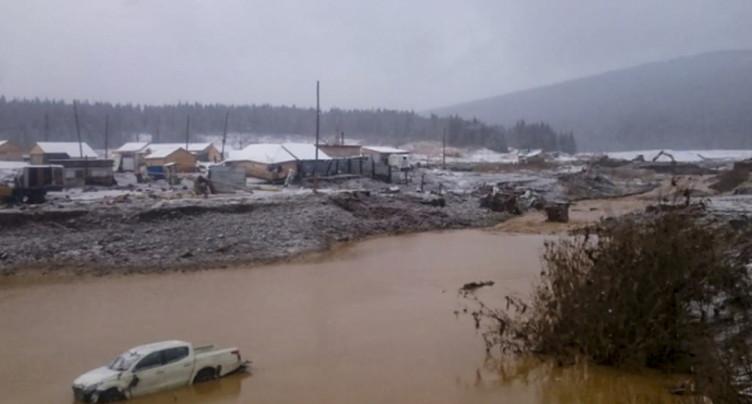 Au moins 13 morts après la rupture d'un barrage en Sibérie