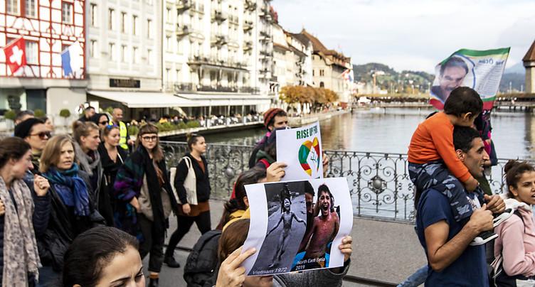Genève: un millier de manifestants pro-kurdes