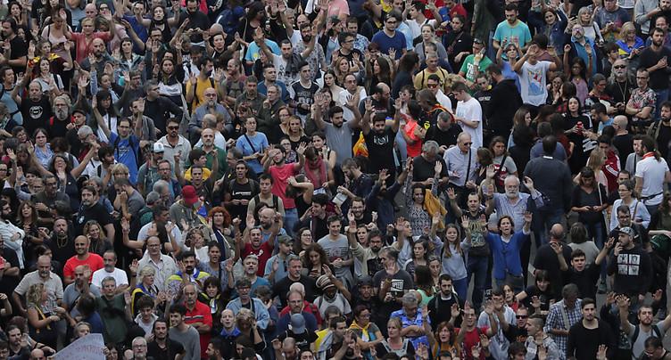 Chaos à Barcelone après une manifestation d'indépendantistes