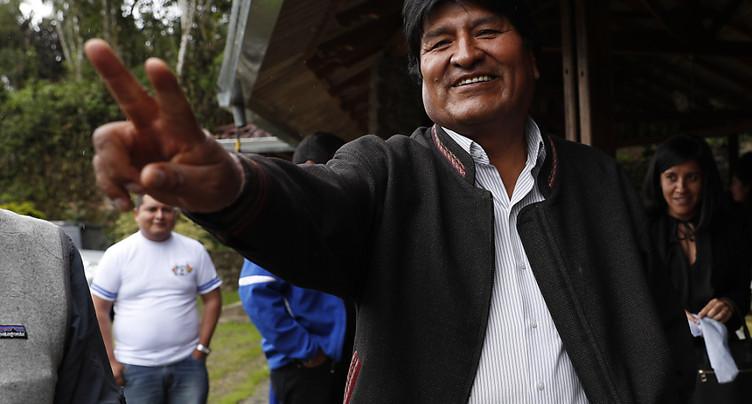 Les élections les plus disputées pour le président Evo Morales