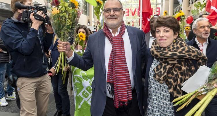 Le ticket rose-vert largement en tête pour les Etats à Genève
