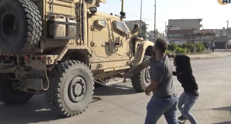 Retirés de Syrie, des soldats américains ont joint une base en Irak