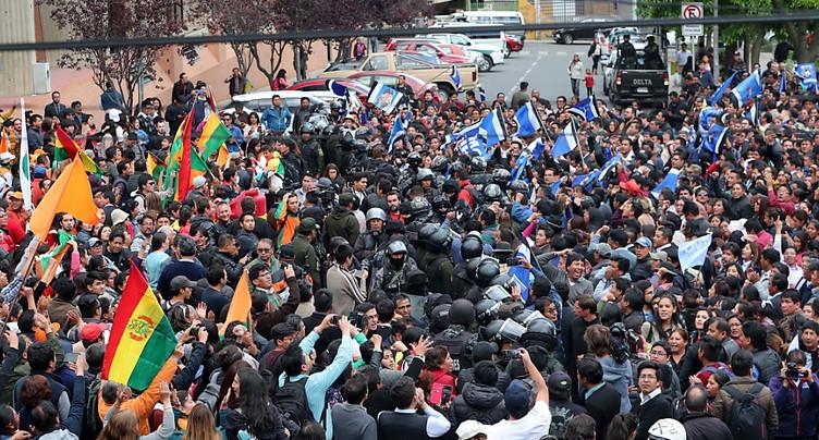 En Bolivie, le président sortant vers une victoire au premier tour