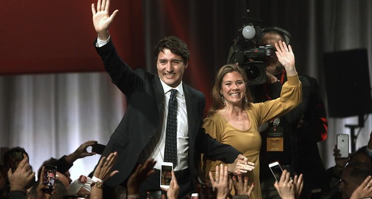 Les libéraux de Justin Trudeau formeront le gouvernement