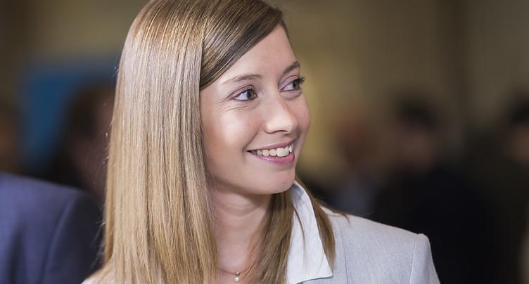 Le PLR lance Johanna Gapany au 2e tour du Conseil des Etats