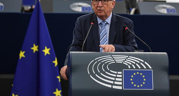 Juncker dit adieu à Strasbourg sans prononcer un mot d'anglais