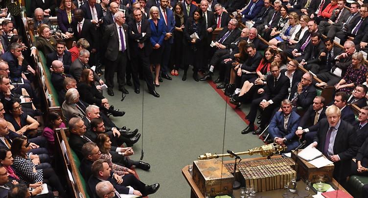 L'accord de Brexit reçoit un premier soutien capital des députés