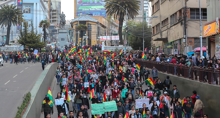 Démission au sein de l'autorité électorale bolivienne