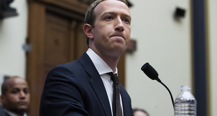 Au Congrès, le patron de Facebook ouvert à discuter du projet Libra