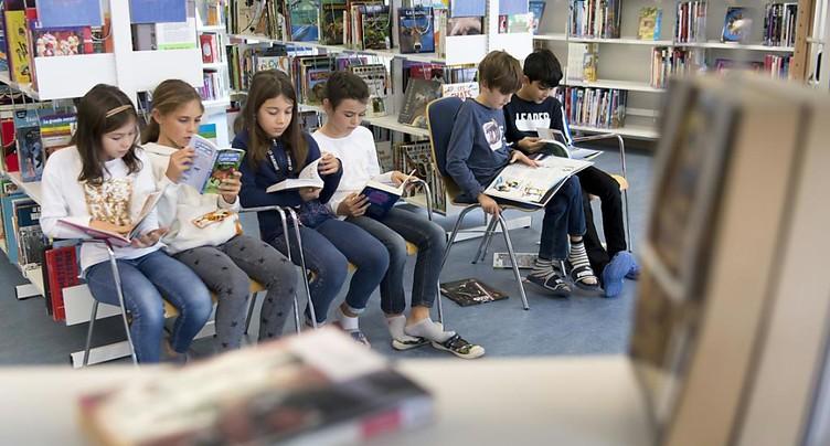 Ecoles vaudoises: 100'000 livres ouverts pour stimuler la lecture