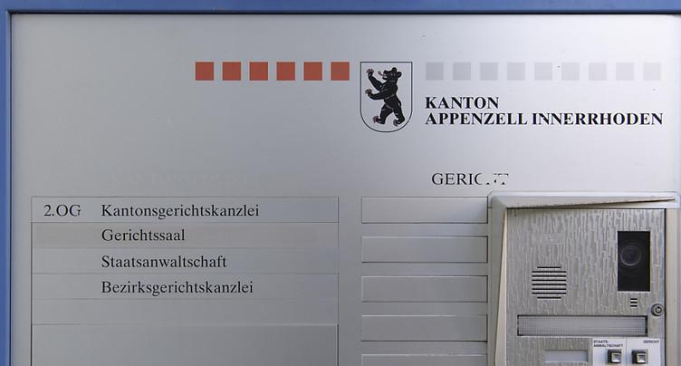 Ancien procureur appenzellois inculpé d'entraves à l'action pénale