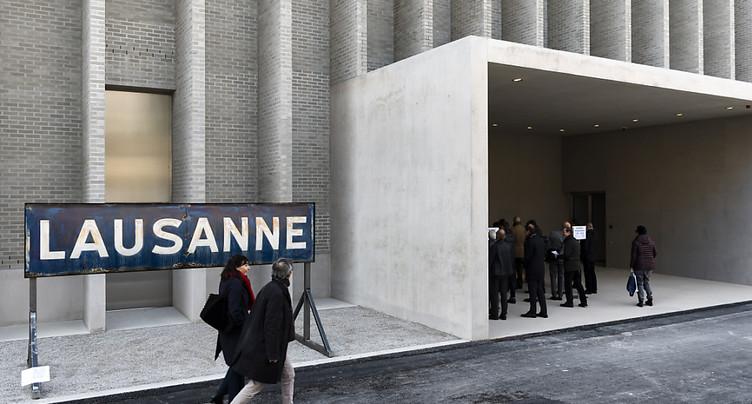 Plateforme 10 à Lausanne: divergences sur le sponsoring