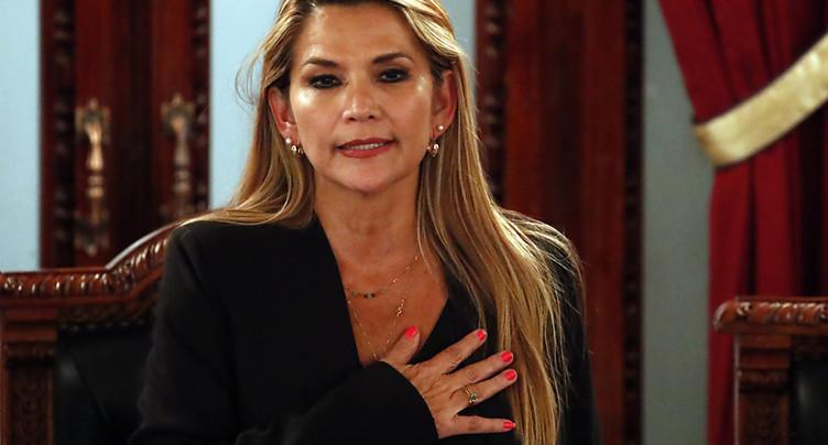 La sénatrice Jeanine Añez se proclame présidente par intérim
