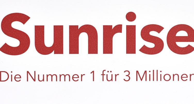 Revenus et rentabilité en progression pour Sunrise au 3e trimestre