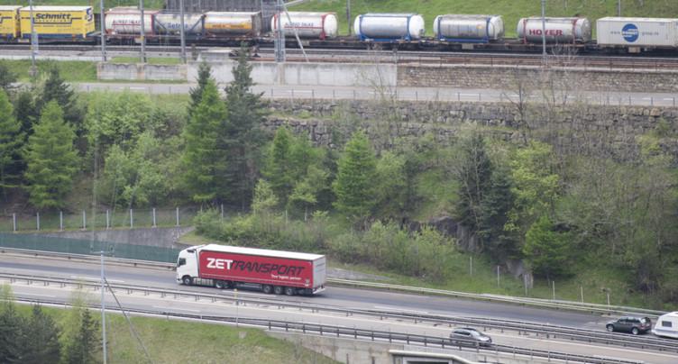 Nouvelles mesures pour le transfert du trafic lourd vers le rail