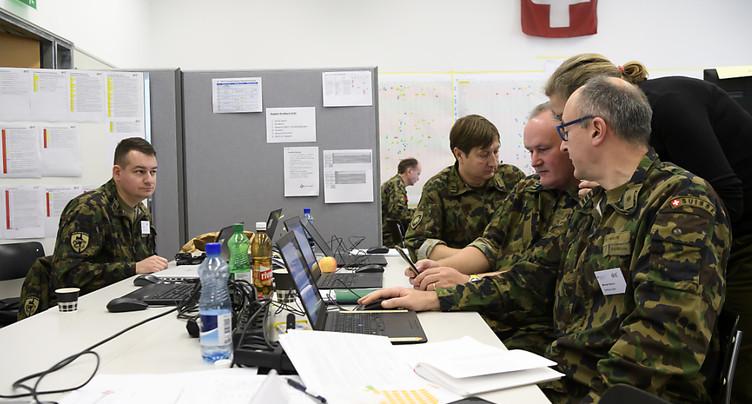 Un exercice de 52 heures mené en Suisse contre le terrorisme