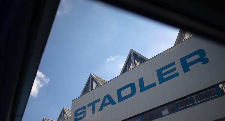 Stadler remporte aux USA un contrat pour un train à hydrogène