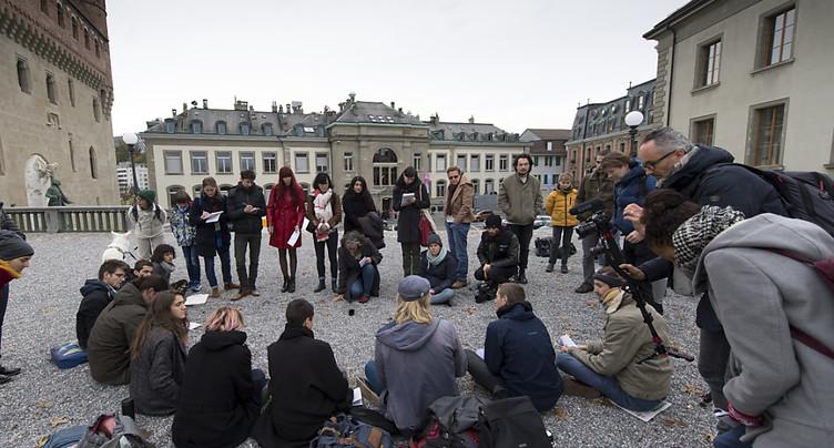 Vaud: les grévistes du climat tireront au sort leur candidat