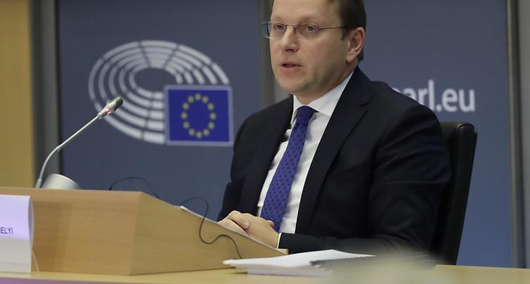 Nouvelle Commission européenne: le 1er décembre comme objectif