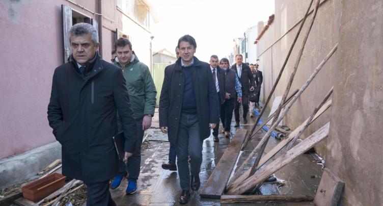 Le gouvernement décrète l'état d'urgence pour Venise