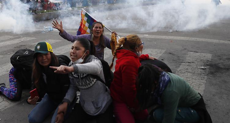Cinq paysans pro-Morales tués dans des affrontements