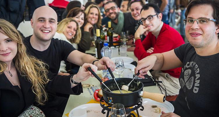 Tartegnin (VD): 120 personnes ont concouru au Mondial de la fondue