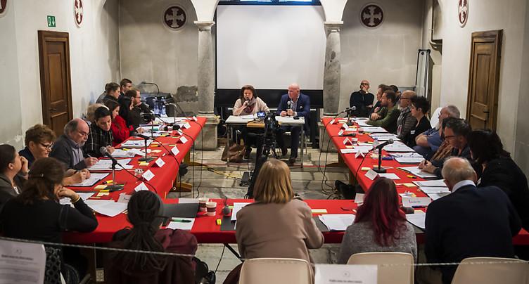 Une initiative passée au crible par un panel de citoyens à Sion