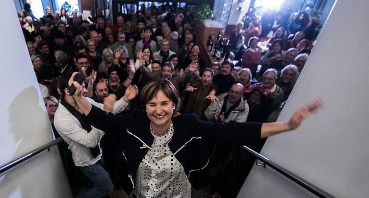 Conseil des Etats TI: Carobbio (PS) élue, Lombardi (PDC) détrôné