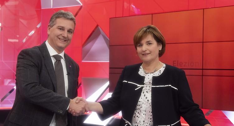 Marina Carobbio (PS) détrône Filippo Lombardi (PDC)