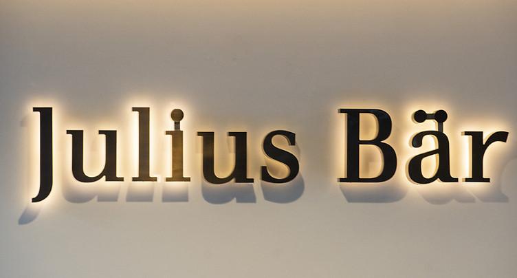 Julius Bär, affecté par Kairos, lance un rachat d'actions
