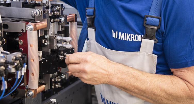Mikron prononce 25 licenciements au Tessin
