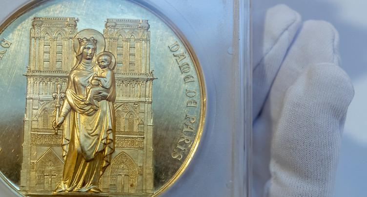 Genève: une pièce en or vendue aux enchères pour 170'000 francs