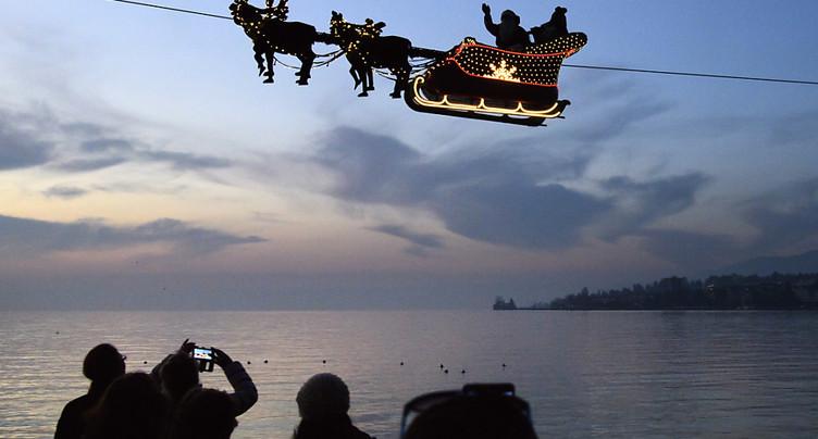 Montreux fête le 25e anniversaire de son marché de Noël