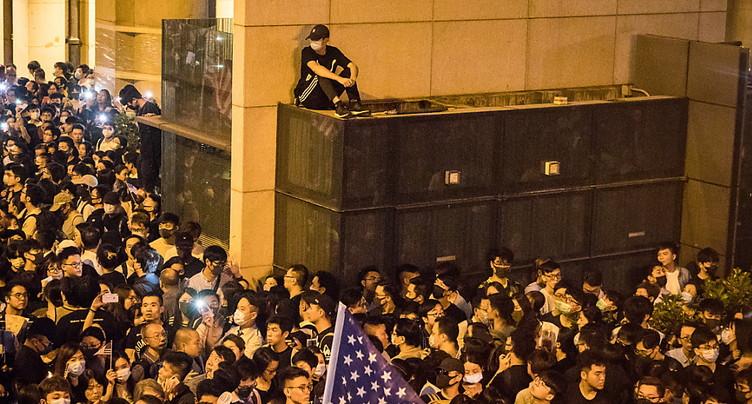 Le Congrès américain adopte une résolution soutenant Hong Kong