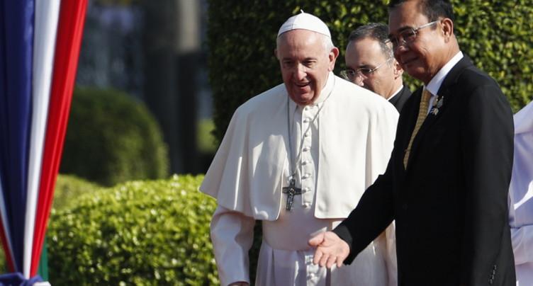 L'avenir se construit en protégeant les enfants, dit le pape en Thaïlande