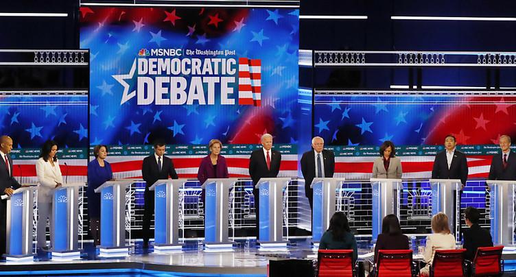 Débat télé: les démocrates divisés entre modérés et progressistes