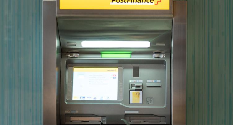 Postfinance a souffert des taux d'intérêt bas sur neuf mois