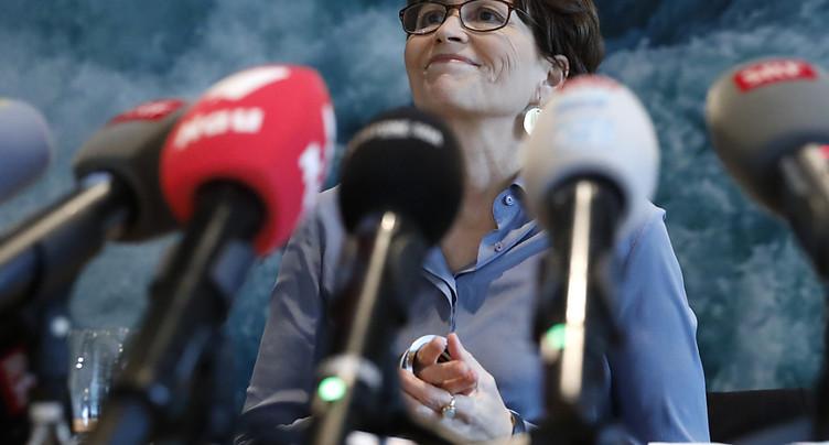 La présidente des Verts Regula Rytz tentée par le Conseil fédéral