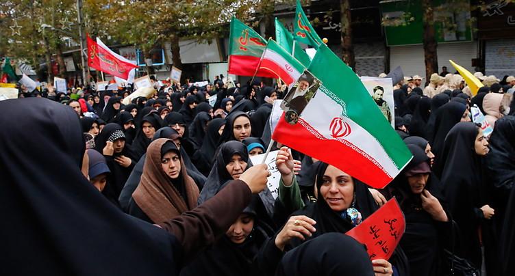 Troubles en Iran: une « guerre mondiale » empêchée, selon une milice