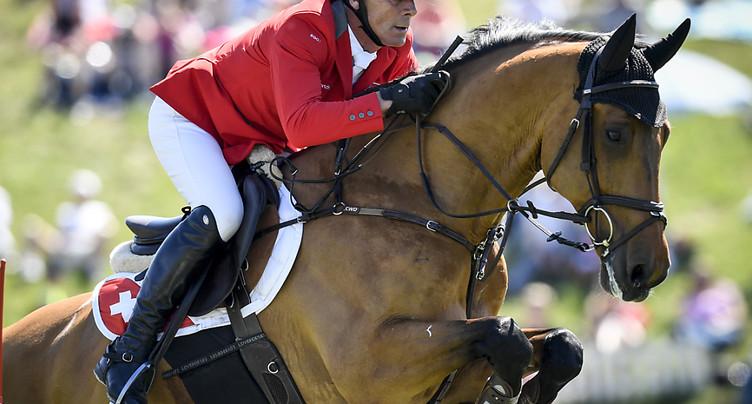 Le cavalier Paul Estermann puni pour avoir maltraité ses chevaux