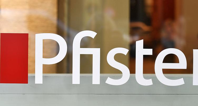 Des suppressions de postes chez Pfister pas encore d'actualité