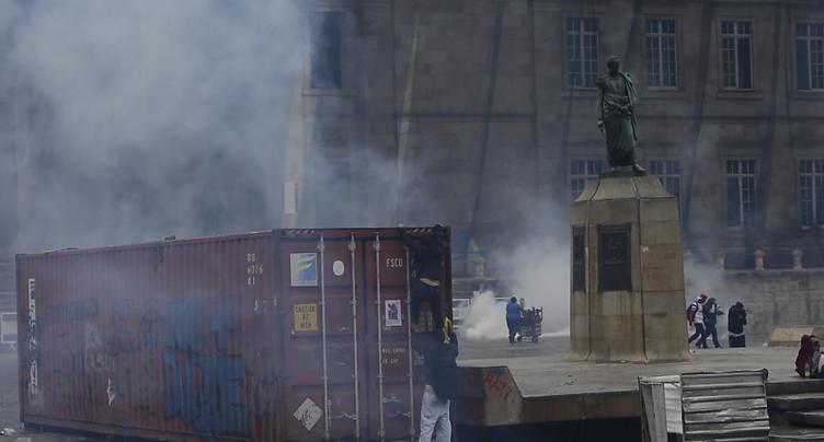 Couvre-feu déclaré dans tout Bogota